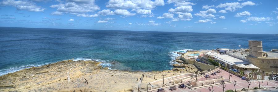 europa hotel sliema malta sea front