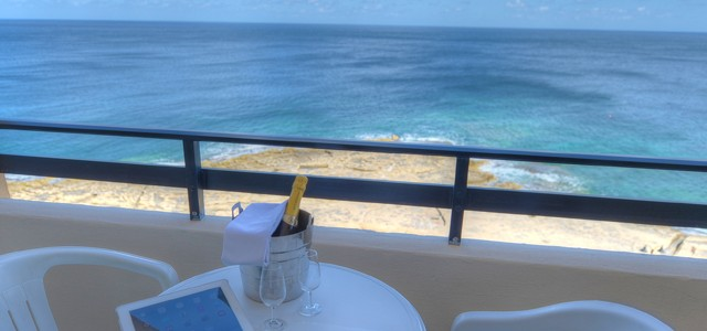 europa hotel sliema malta sea view